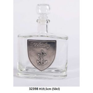 32398.f Bouteille Whisky h19,5 50cl¤