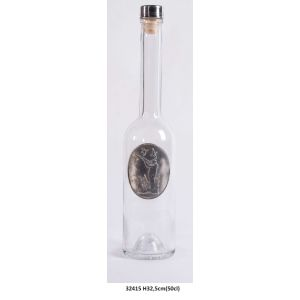 32415.f Bouteille Chasseur h32,5 50cl¤