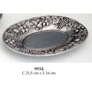 9954.F Coupe Ovale fruits 21.5x16cm