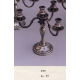 473.F Chandelier 4 bougies H27cm
