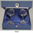 "Set Coffret de 2 Verres à BORDEAU"", 90120.F"