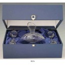 "SET Coffret de 1 DECANTER et 2 Verres ""Raisin"", 90136.F"