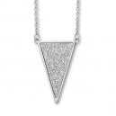 hsn113.BHO Collier Triangle Acier¤