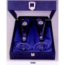 18400.F Coffret 2 flutes colombes alliances argent